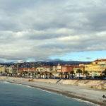 La célèbre Promenade des Anglais à Nice